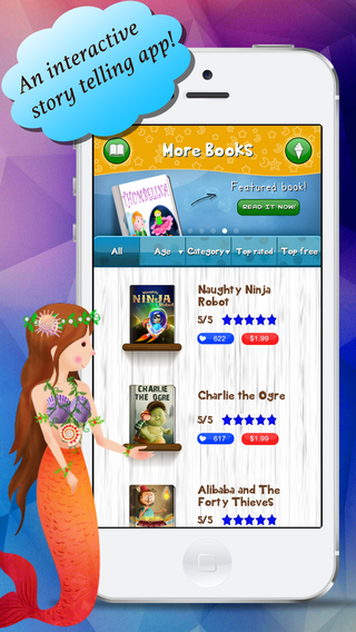 Story Time For Kids version 3.0 screen