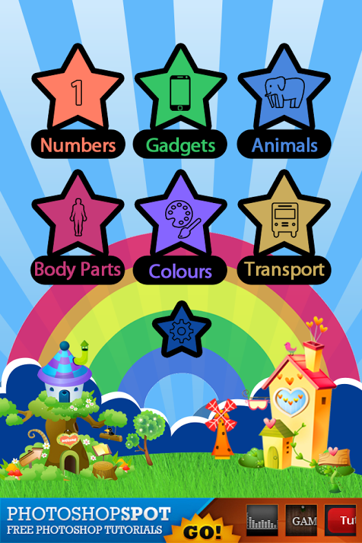 Kids Tiles has been acknowledged as a good mobile educational app for kids