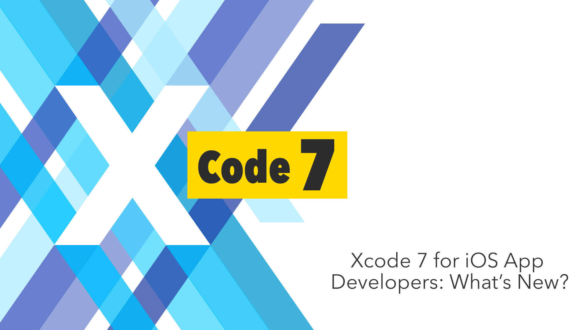 Best features of xcode 7