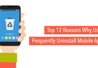 Reasons for app uninstallation