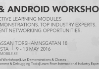 iOS/Android workshops, on 9-13 May