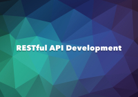 Restful api development tips