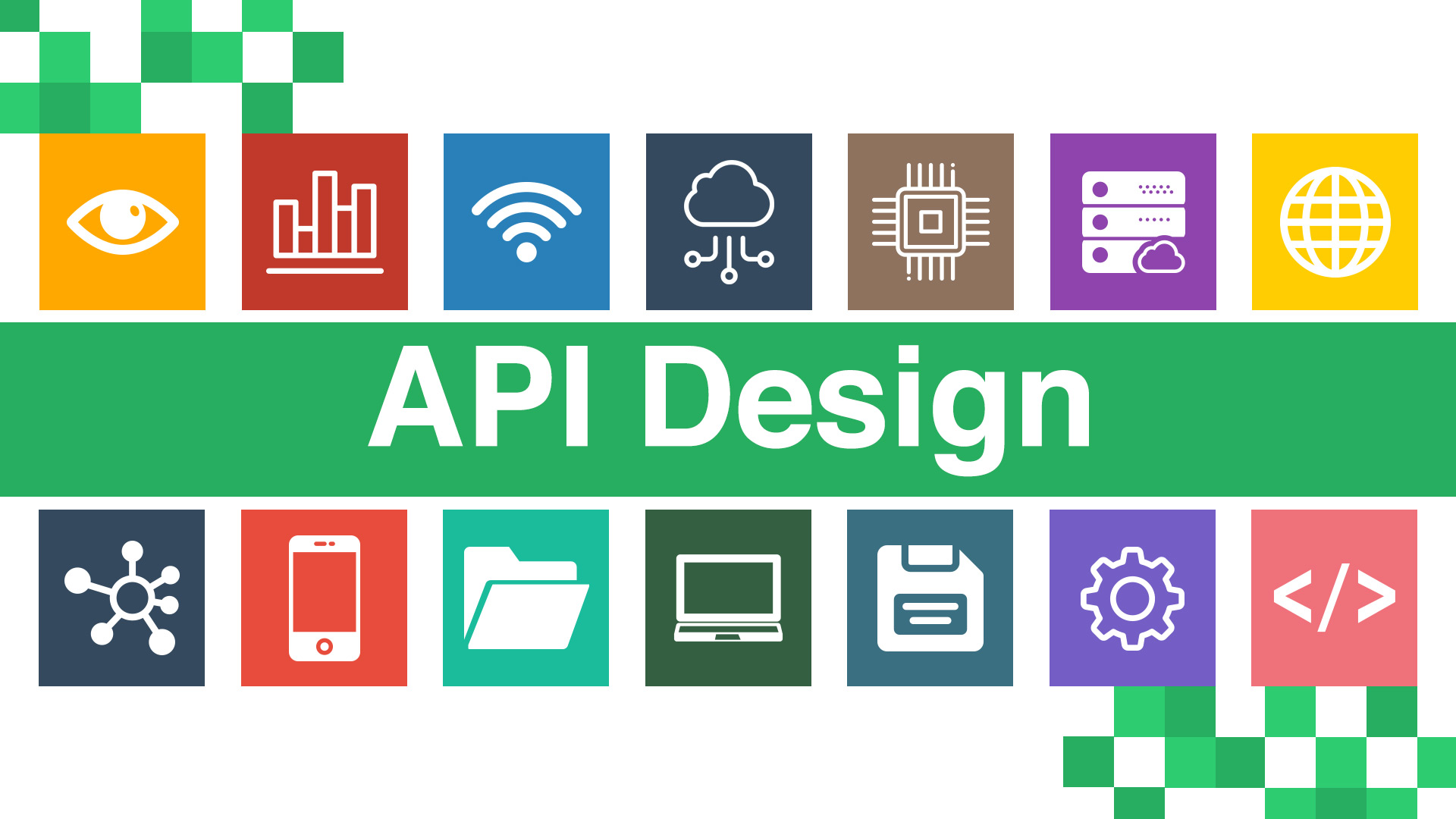 API designing tips and pointers