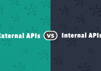 Comparison of internal apis and external apis