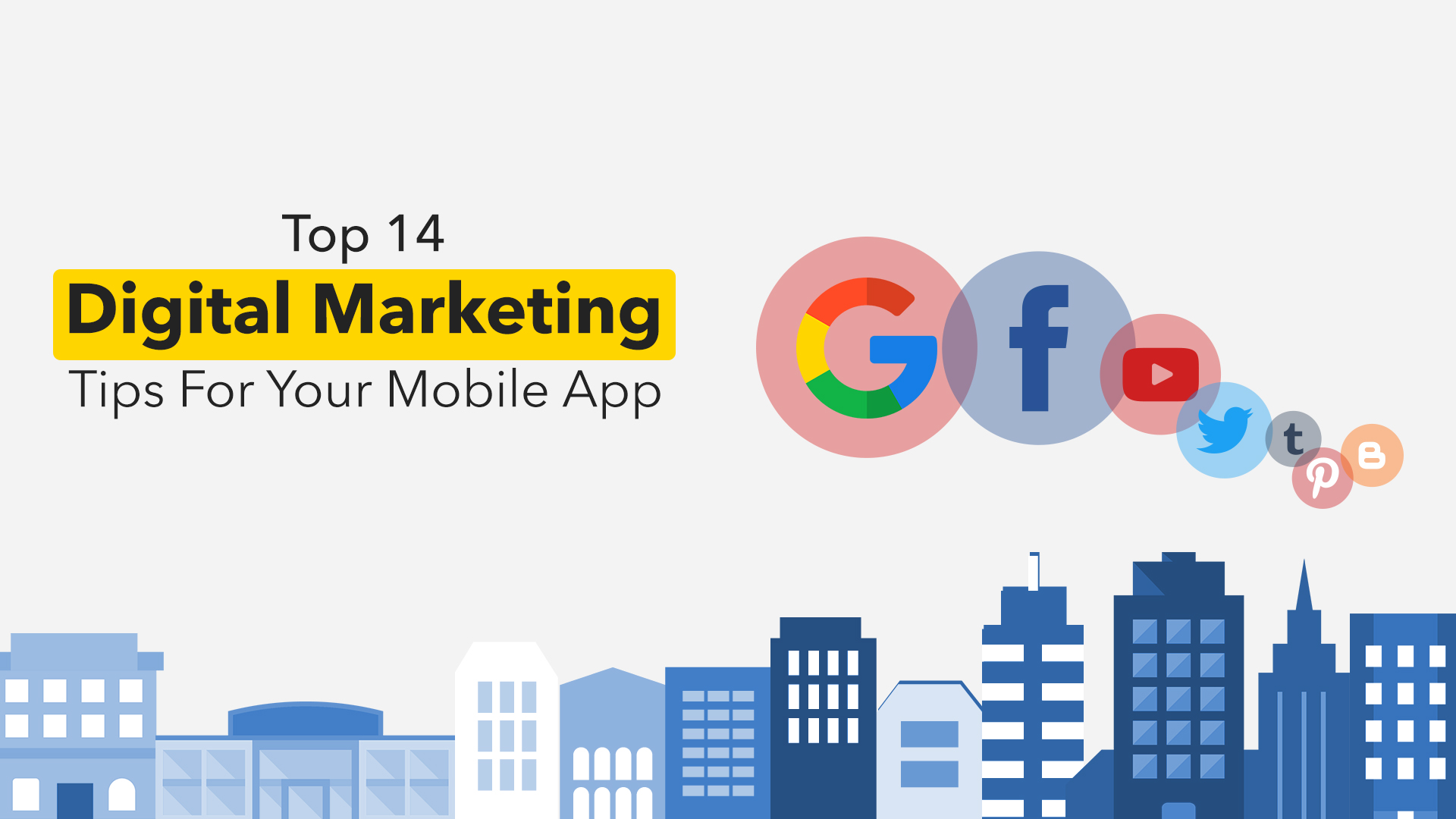 Digital marketing of mobile apps: Tips