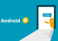 Android O first developer preview has been released