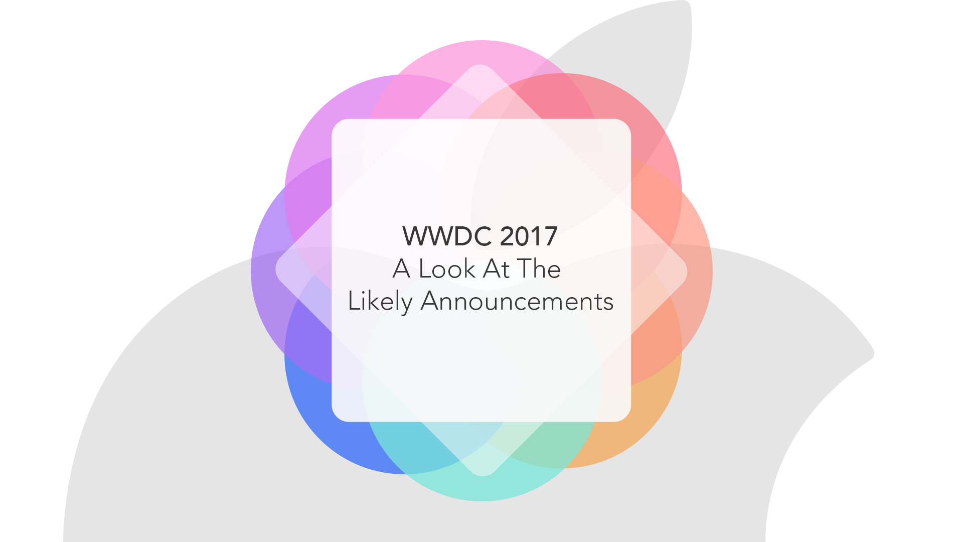 List of expected announcements at WWDC 2017