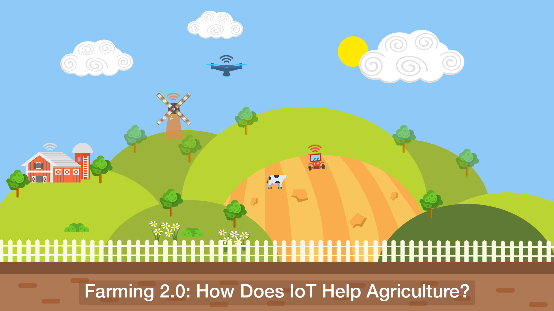 Role of IoT in smart agriculture