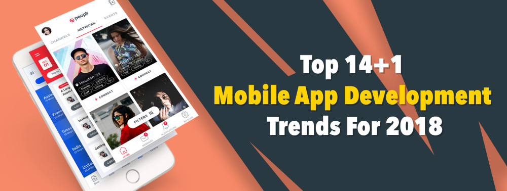 mobile app dev trends 2018