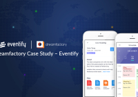 the dreamfactory tool was used to make eventify app building platform