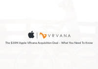 Apple Inc. recently acquired Vrvana