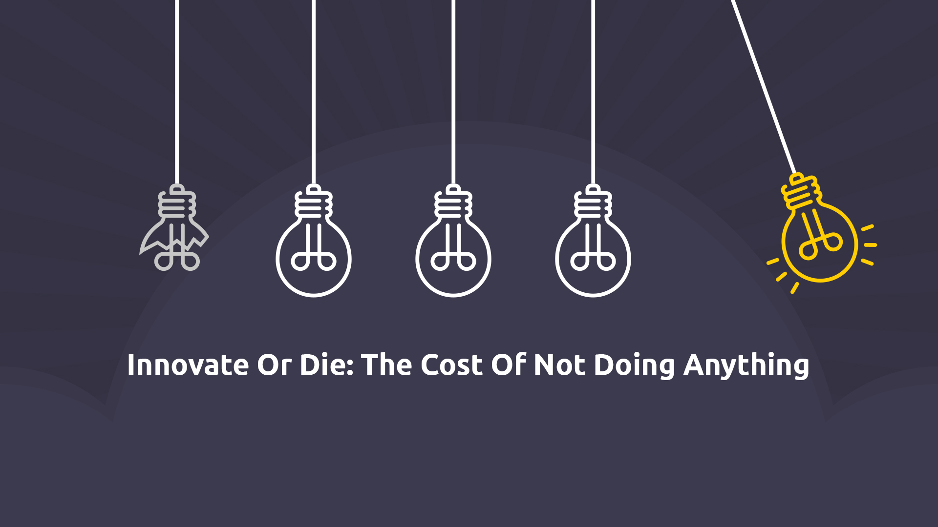 Innovate or die the cost of not doing anything how failure to innovate can really hurt businesses altavistaventures Gallery