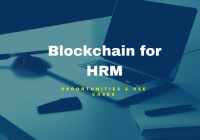 Blockchain for HR management